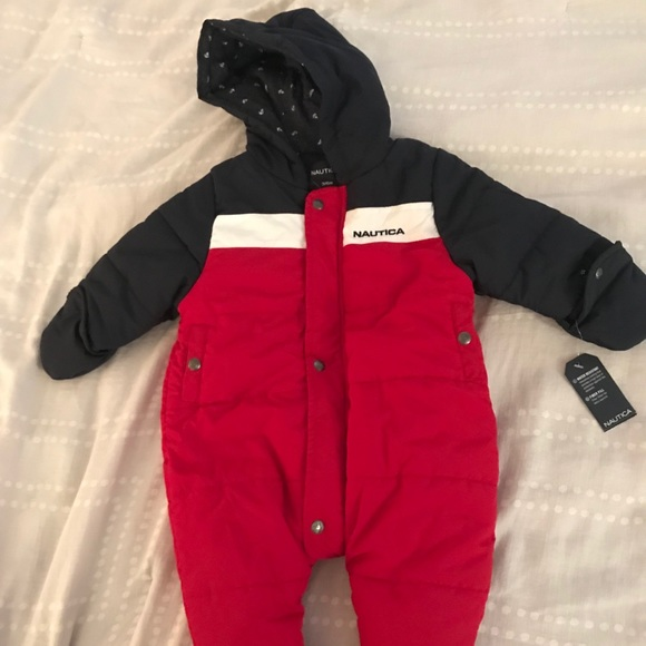 35735869c Nautica Jackets & Coats | Baby Boy One Piece Coat And Hats 36 Month ...